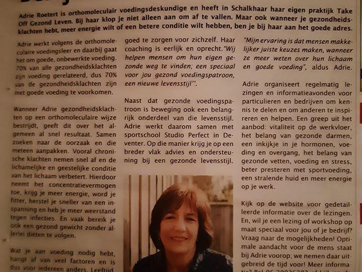 Artikel in Schalkhaar