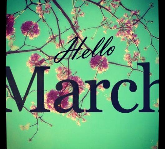 Maart roert zijn staart