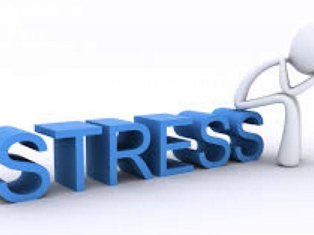 Stress blauwe
