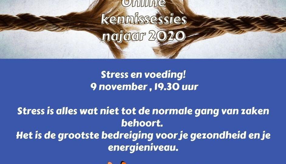Stress en voeding, 9 november 2020