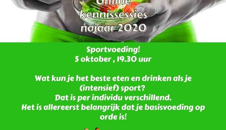 Uiting FB en LinkedIn Sportvoeding 5 oktober 2020